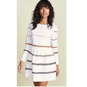 English Factory A-lined striped dress